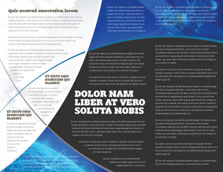 Cosmonaut Brochure Template, Inner Page, 03991, Technology, Science & Computers — PoweredTemplate.com
