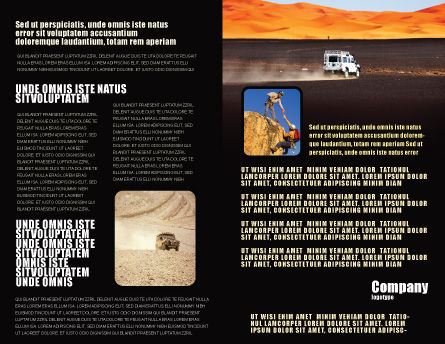 Extreme Expedition Brochure Template, Inner Page, 04023, Nature & Environment — PoweredTemplate.com