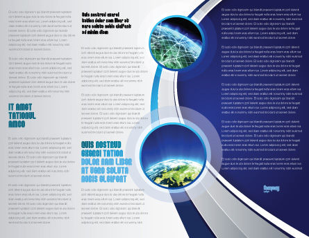 Luminary Brochure Template, Inner Page, 04043, Nature & Environment — PoweredTemplate.com