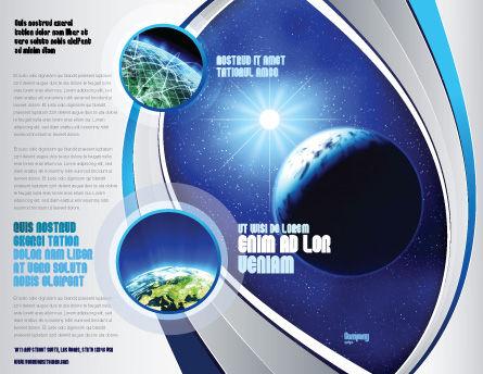 Luminary Brochure Template, Outer Page, 04043, Nature & Environment — PoweredTemplate.com