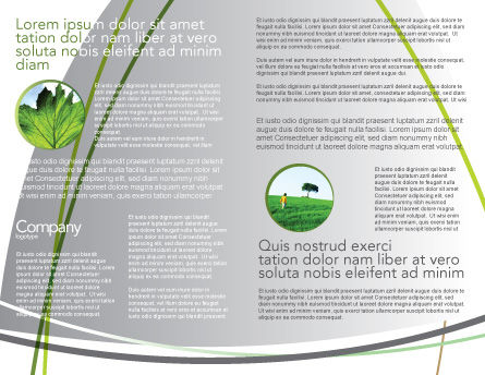 Green Ideas Brochure Template, Inner Page, 04090, Nature & Environment — PoweredTemplate.com