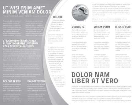 World Hard Currency Brochure Template Inner Page