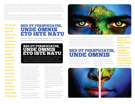 South America Brochure Template Inner Page