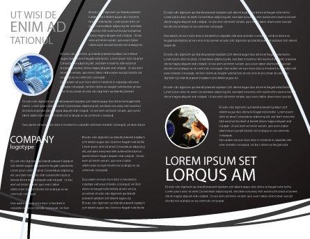 Mechanic Gears Brochure Template Inner Page