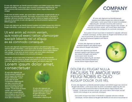 Water drop brochure template design and layout download for Water brochure template