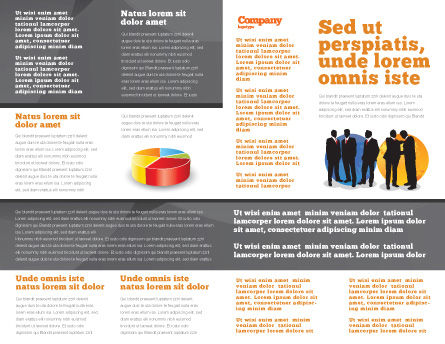 Euro vs. Dollar Brochure Template Inner Page