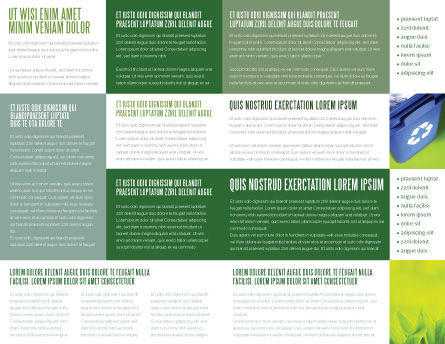 Green Land Brochure Template Inner Page