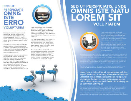 Offshore Development Brochure Template, Inner Page, 04271, Consulting — PoweredTemplate.com