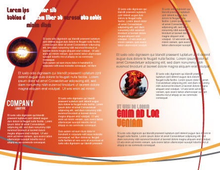 Dynamite Brochure Template, Inner Page, 04287, Military — PoweredTemplate.com