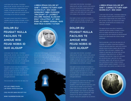 Female Mind Brochure Template Inner Page