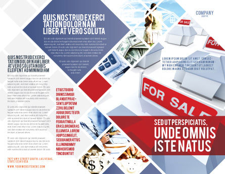 Real Estate In Massive Sale Brochure Template Outer Page