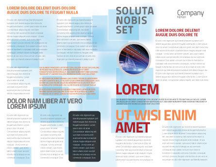 Modern Civilization Brochure Template, Inner Page, 04309, Global — PoweredTemplate.com