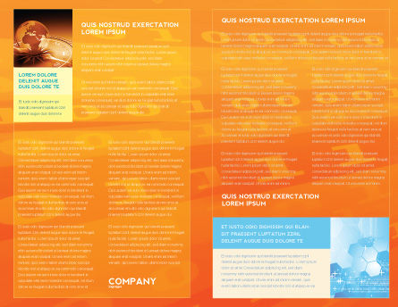 Mobile Service Provider Brochure Template, Inner Page, 04320, Telecommunication — PoweredTemplate.com