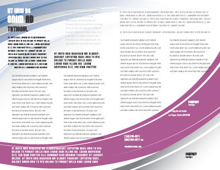Multicomputer System Brochure Template, Inner Page, 04331, Telecommunication — PoweredTemplate.com
