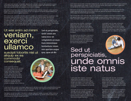 Chalk Brochure Template Inner Page