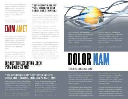 World Global Tendencies Brochure Template Inner Page