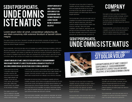 Cocaine Brochure Template, Inner Page, 04384, Medical — PoweredTemplate.com