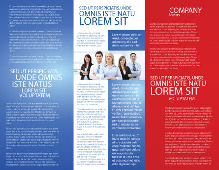 Success Way Brochure Template, Inner Page, 04434, Careers/Industry — PoweredTemplate.com