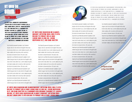 World Target Brochure Template, Inner Page, 04452, Business Concepts — PoweredTemplate.com