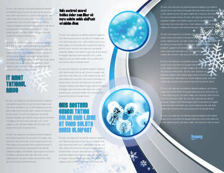 Frost Brochure Template, Inner Page, 04481, Nature & Environment — PoweredTemplate.com