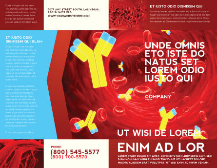 Antibodies Brochure Template Outer Page