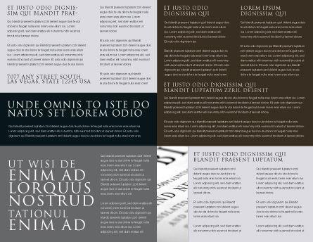 Hope Brochure Template, Inner Page, 04503, Religious/Spiritual — PoweredTemplate.com