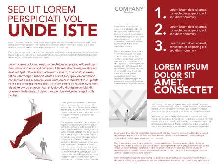 Enhancing Careers Brochure Template Inner Page