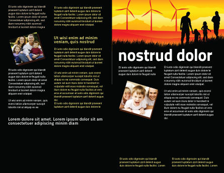 California Brochure Template Inner Page