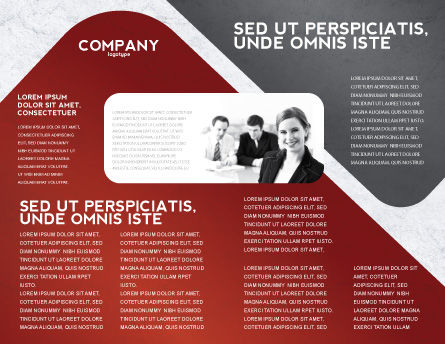 Career Building Brochure Template, Inner Page, 04528, Careers/Industry — PoweredTemplate.com