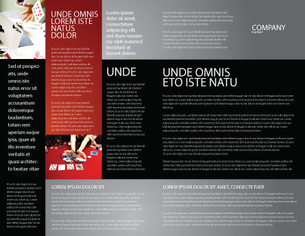 Aces Brochure Template, Inner Page, 04536, Careers/Industry — PoweredTemplate.com