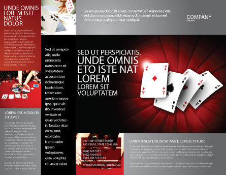 Aces Brochure Template, Outer Page, 04536, Careers/Industry — PoweredTemplate.com