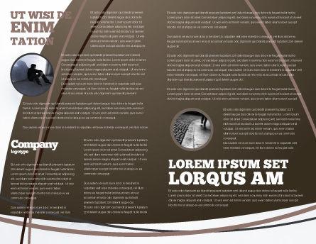 Suicidal Brochure Template, Inner Page, 04551, Religious/Spiritual — PoweredTemplate.com