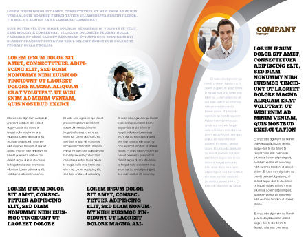 Distinguished Brochure Template, Inner Page, 04584, Business Concepts — PoweredTemplate.com