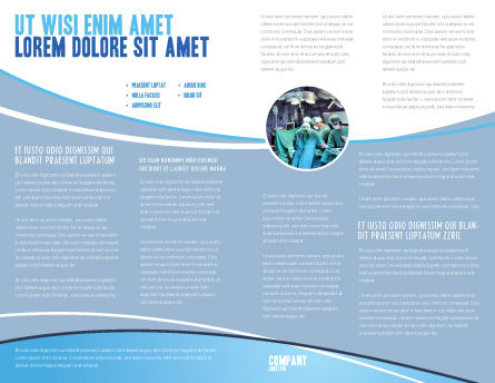 Scalpel Brochure Template Inner Page
