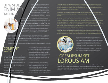 Modello Brochure - Incisione chirurgica, Pagina Interna, 04619, Medico — PoweredTemplate.com