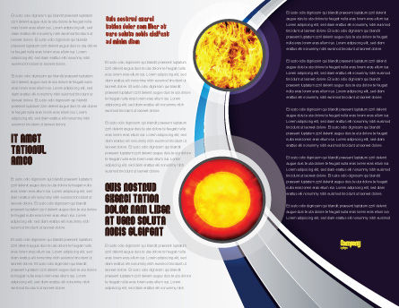Supernova Brochure Template Inner Page