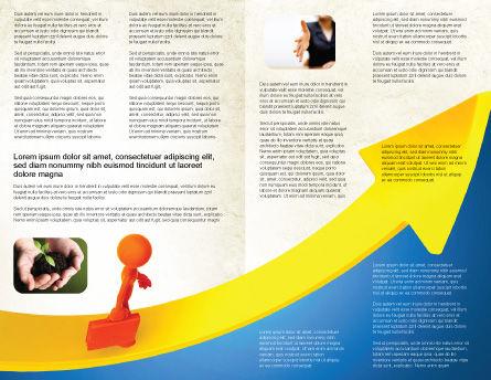 Improvement Brochure Template, Inner Page, 04786, Careers/Industry — PoweredTemplate.com