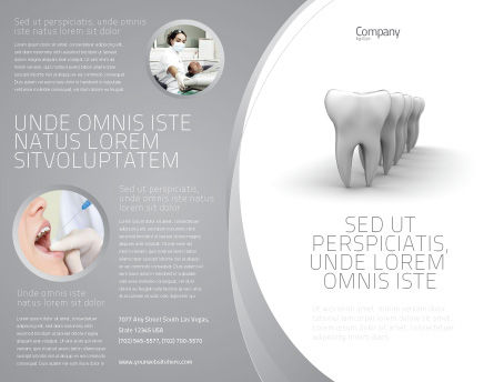 Teeth Brochure Template Design And Layout Download Now 04787