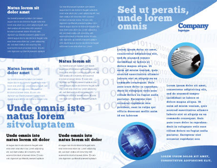 Artificial Mind Brochure Template, Inner Page, 04792, Technology, Science & Computers — PoweredTemplate.com
