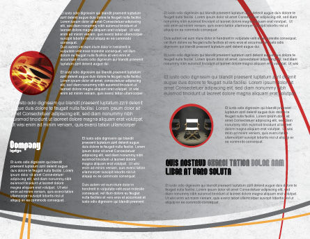 Cameraman Brochure Template, Inner Page, 04873, Careers/Industry — PoweredTemplate.com