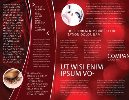 Mystic Beauty Brochure Template, Inner Page, 04951, Art & Entertainment — PoweredTemplate.com