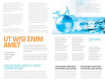 World Integrity Brochure Template, Inner Page, 04979, Business Concepts — PoweredTemplate.com