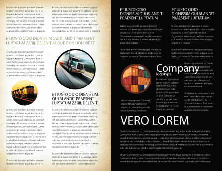 Crisper Brochure Template, Inner Page, 05038, Cars/Transportation — PoweredTemplate.com