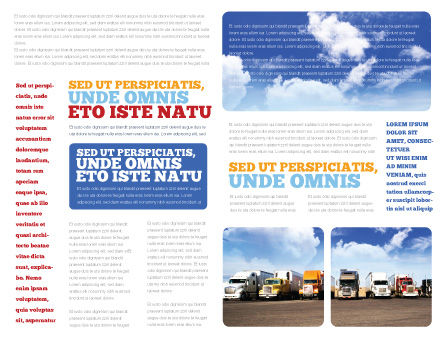 Trucks Brochure Template Inner Page