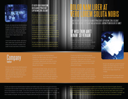 Plugged In Brochure Template Inner Page