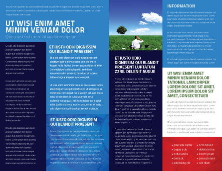 Happy Future Brochure Template Inner Page