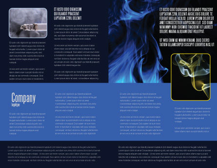 Smoke Brochure Template Inner Page