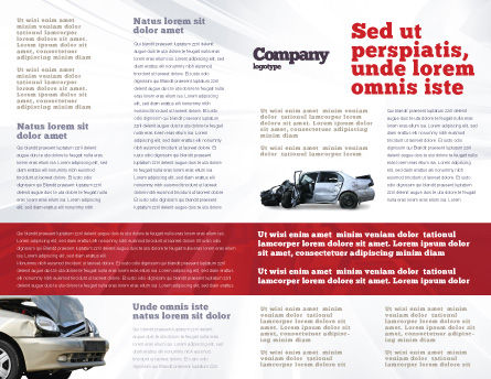 Accident Brochure Template Inner Page