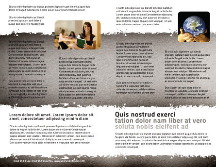 Glossary Brochure Template Inner Page