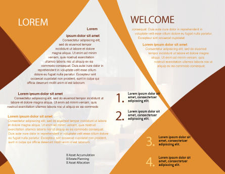 Hotel Restaurant Brochure Template, Inner Page, 05392, Careers/Industry — PoweredTemplate.com